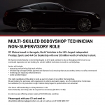 Multi-skilled Bodsyshop Technician – Non-supervisory Role